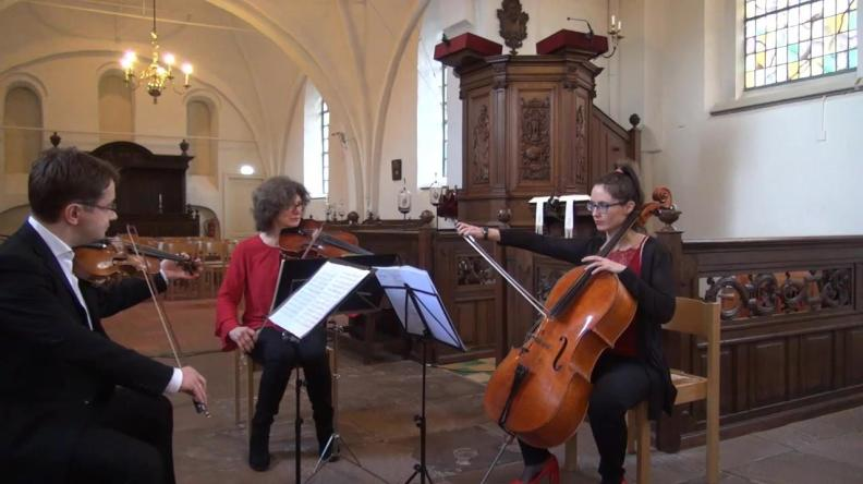 String Trio Sergei Bolotny violin Ulrike Adam viola Noelle Weidmann cello