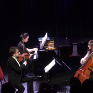 Piano Trio Classique Sergei Bolotny violin Noelle Weidman cello Keiko Sakuma piano