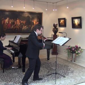 Sergei Bolotny violin Keiko Sakuma piano