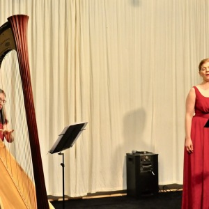 Nina Schulze, Sopran, Marie Zimmer, Harfe