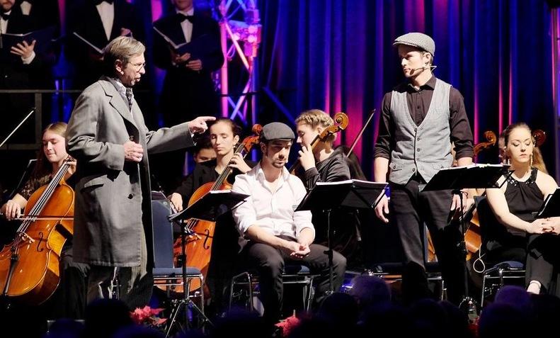 Ebenezer Scrooge Concert Musical