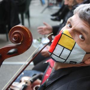 Geht Musik mit Maske?