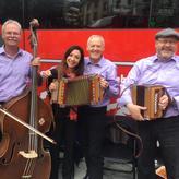 Einweihung Bernina-Express Bus mit RHB Produktmanagerin Sabrina Dattilo