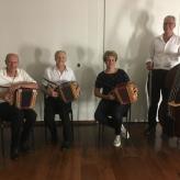 Claudia's Bistro Calactic Zürich mit Gastmusikantin Maja Piguet