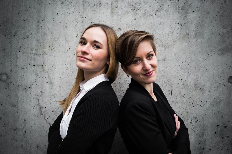 Anna Anstett und Alina Wunderlin