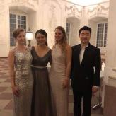 Gesangssolisten der Mozart-Gala 2017 im Schloss Mannheim