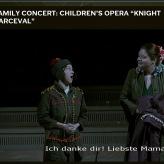 """Momentaufnahme von """"Ritter Parceval"""" in der Philharmonie Berlin, Februar 2018"""