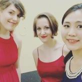 The Sopranos! Opernstudio-Konzert beim Rotary-Club in Troisdorf, November 2018 (Kathrin Zukowski, Alina Wunderlin, Hyoeun Lee)