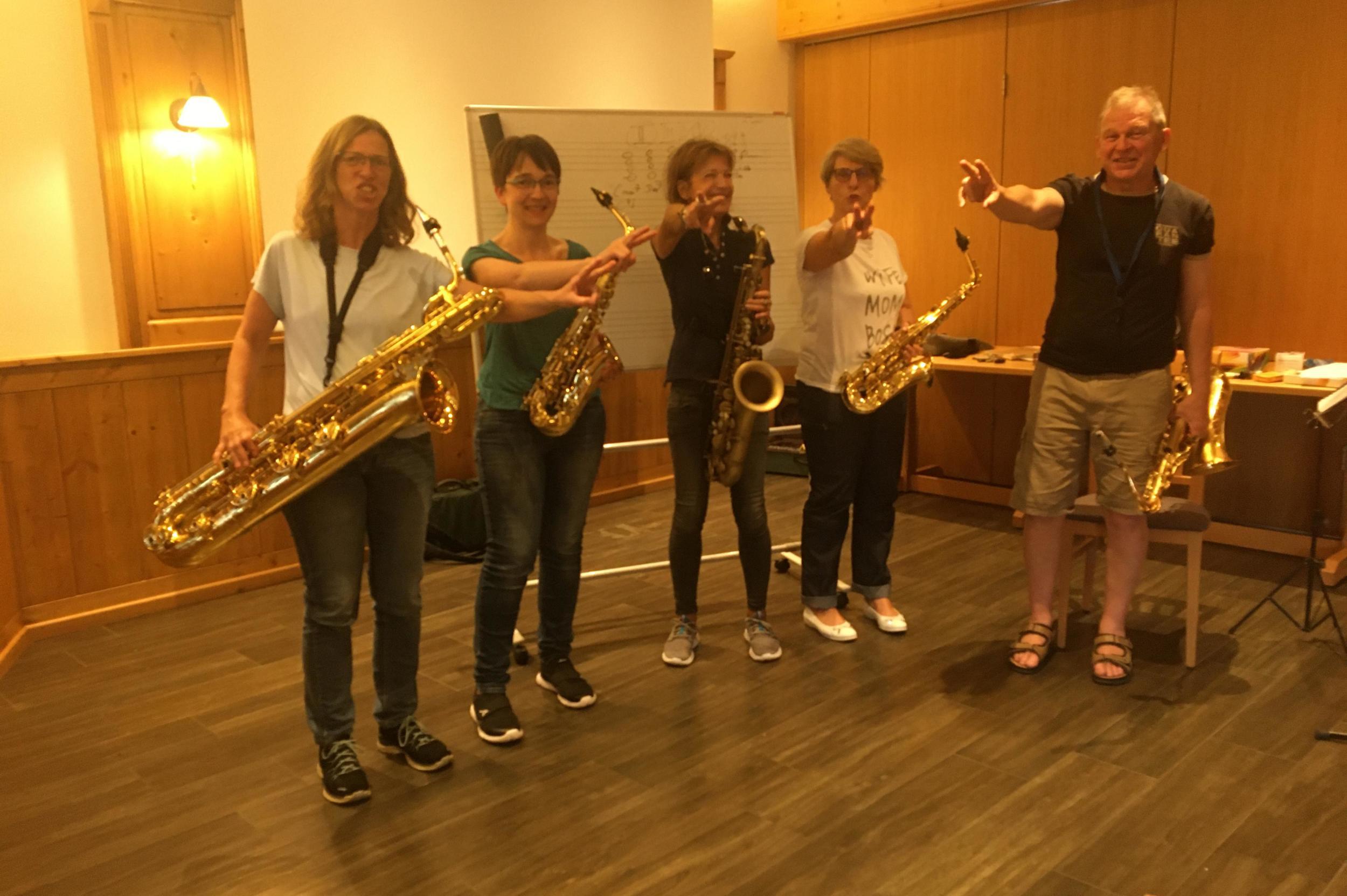 Saxophon Workshop Stefan Lamml Sax Coach