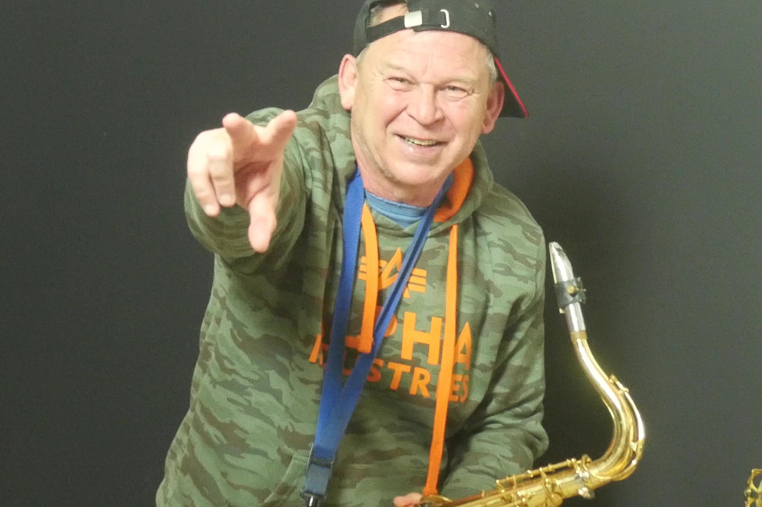 """Saxman""- Sax Coach Stefan Lamml Saxophon Solist"