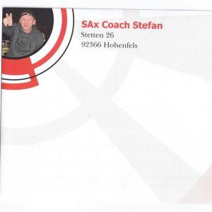 """""""Saxophon Backingtracks""""- Gutscheine von Sax Coach Stefan Lamml"""