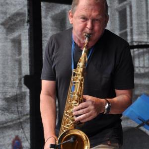 StefanLamml Solist auf dem Saxophon Bürgerfest Regensburg