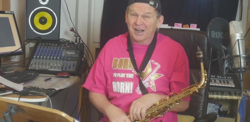 Stefan Lamml saxman und Sax Coach und Saxophon Solist