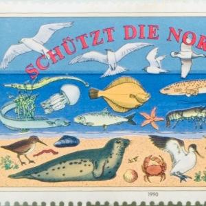 """Ich habe eine Briefmarke von 1990 entdeckt, schaut mal, wie lange es """"unser"""" Thema schon gibt!"""
