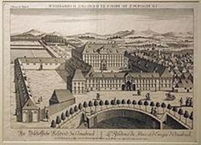 Das Osnabrücker Schloss nach 1777