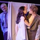 Iphis | Junge Oper Hannover (Uwe Gottswinter, Lidgus; Ylva Stenberg, Ianthe; Anna Schaumlöffel, Iphis) | © Thomas M. Jauk | 2019