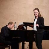 Anna Schaumlöffel   Meisterkurs KS Christa Ludwig (Jonathan Ware, Klavier)   © Dabernig   2018