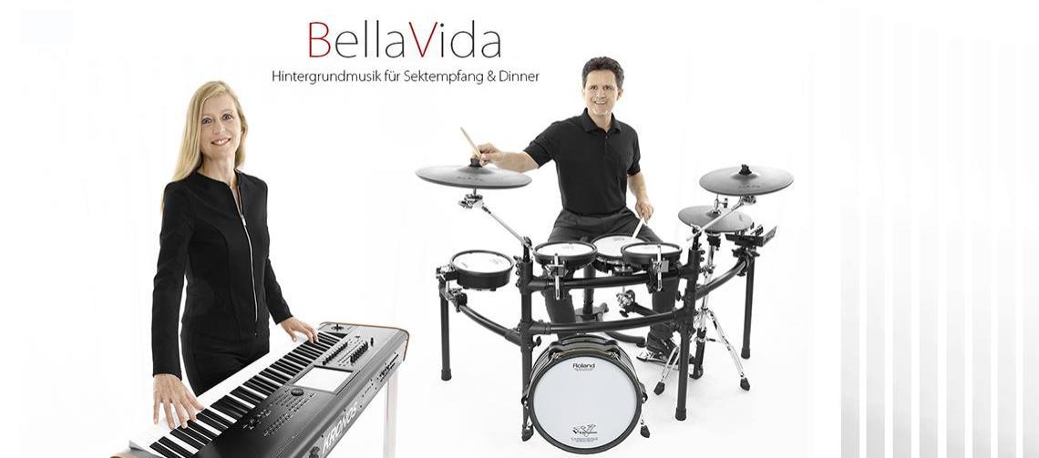BellaVida - Hintergrundmusik für Sektempfang & Dinner