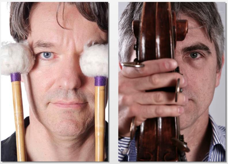 Michael Kiedaisch (Vibraphon) & Florian Döling (Bass)