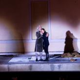 "Premiere ""Fidelio"" - Helgi Reynisson (Don Fernando), Brad Cooper (Florestan), Larissa Angelini (Leonore), Bartosz Szulc (Rocco) © Uwe Hauth"