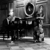 Darko Ivanovic (Klavier), Larissa Angelini (Gesang)