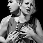 Larissa Angelini (Emma), Reto Knöpfel (Theo), Atelier Theater Meilen