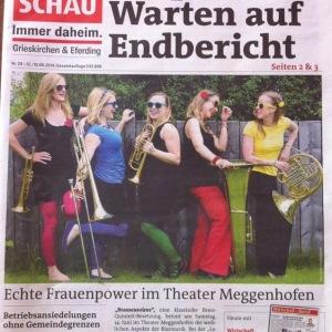 13.06.2014 Bezirksrundschau (Titelblatt)