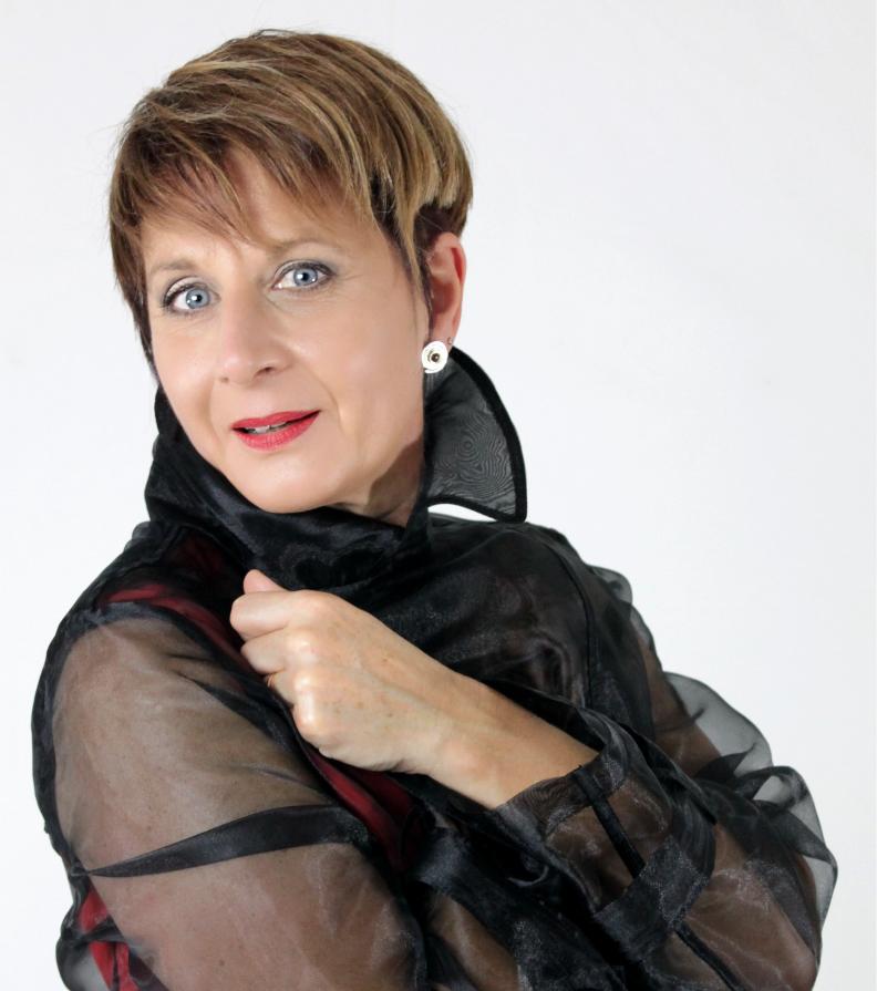 Hildegard Baum - Sängerin  (Foto: HPBaum)