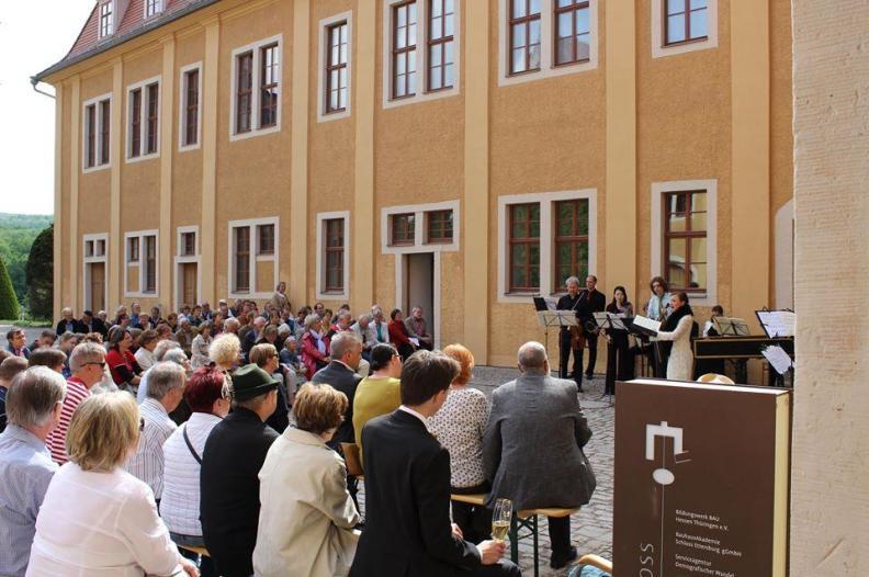 """""""Viel Lärm Um Nichts"""" mit Bachs Jagdkantate 2015 auf Schloss Ettersburg"""