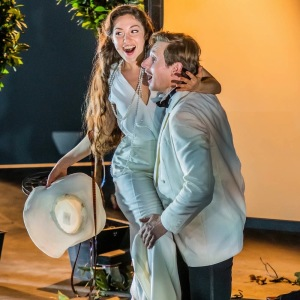 "Als Susanna in W. A. Mozarts ""Le nozze di Figaro"" (Figaro - D. Miroslaw, The New Generation Festival, Florenz). Foto von G. Bell."
