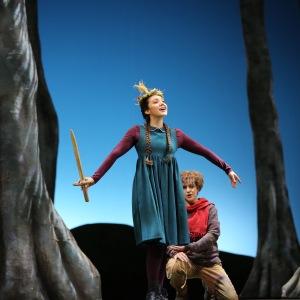 """As Gretel in E. Humperdinck´s """"Hänsel und Gretel"""" (Hessisches Staatstheater Wiesbaden). Photo by De-Da Productions."""