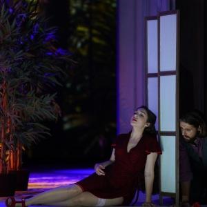 """Als Susanna in W. A. Mozarts """"Le nozze di Figaro"""" (Figaro - K. Krimmel, Hessisches Staatstheater Wiesbaden). Foto von Karl und Monika Forster."""