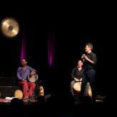 Drumming meets Improtheater