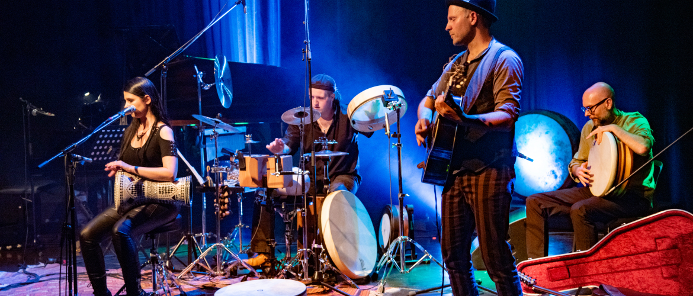 Band Delva mit Max Gerwien und Francesco Magarò