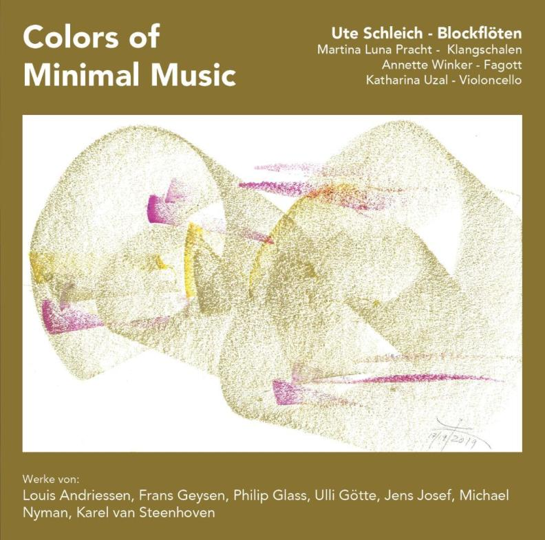 "Cover  ""Colors of Minimal Music"""