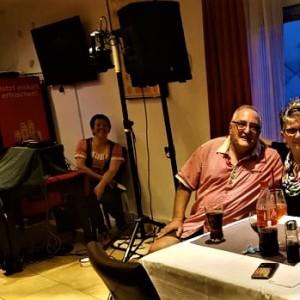 70 Geburtstag von Roswitha Wolf mit Erna Stockert und Gert Emig