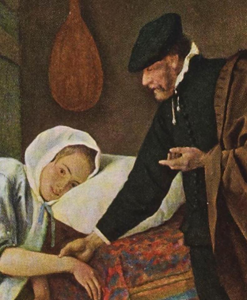 la malade, von Jan Steen
