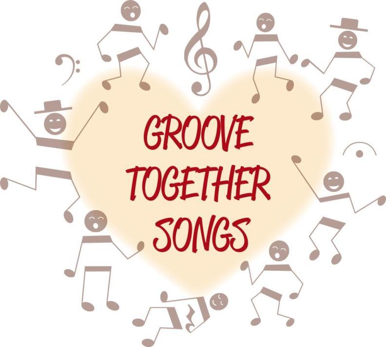 Logo GROOVE TOGETHER SONGS (Elisabeth Wetzel)