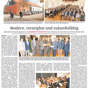 Altmühlbote, 21.10.2019 - Einweihungsfeier Bürgerhaus Merkendorf